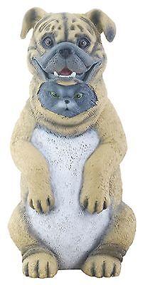 """DUPERS - CAT HIDDING IN DOG COSTUME FIGURINE - NEW MIB 5.75"""" - SUPER CUTE"""