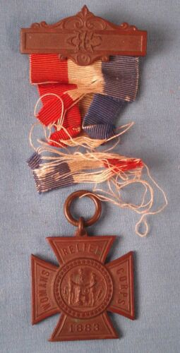 GAR Civil War Women Relief Corps W.R.C. Medal.