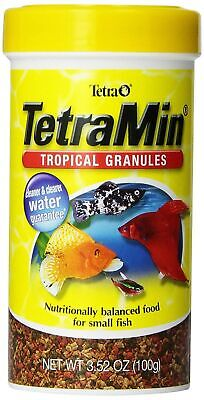 TetraMin Tropical Granules Nutritionally Balanced for Small -