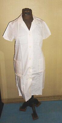 DDR Laborkittel Kittel Arztkittel Arbeitskittel Vintage Weiss Größe M 50 Kostüm - Kostüm Arbeit