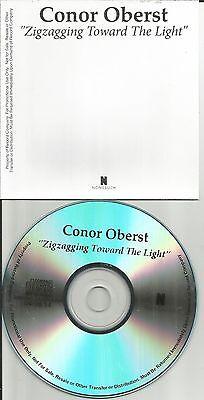 Bright Eyes CONOR OBERST Zigzagging toward the Light PROMO DJ CD Single 2014 Bright Eyes Light