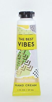 1 BATH & BODY WORKS THE BEST VIBES COCONUT VANILLA HAND CREAM LOTION 1OZ