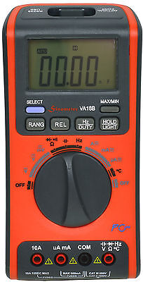 Va Va18b Automanual Ranging Digital Multimeter With Usb Interface