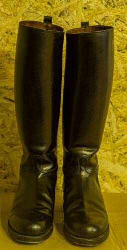 French gendarmerie riding boots