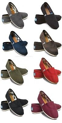 100% AUTHENTIC TOMS CLASSIC WOMEN CANVAS SHOES, BRAND NEW. ALL - Classic Toms