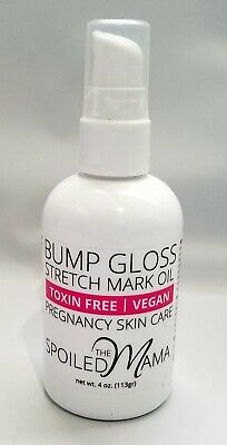 THE SPOILED MAMA Stretch Mark Belly Oil Pregnancy Skincare Organic Toxin-Free