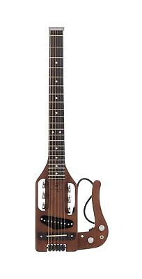 Traveler Guitar 6 String Pro-Series (Antique Brown), Right, (PS ABNS) Fretboard
