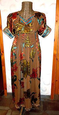 Traumhafte Robe Empirestil Plisseerock Chasuble Gr.42/44 Top Qualität - Viktorianischen Stil Kostüm