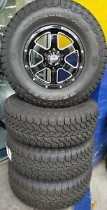 WHEEL & TYRE PACKAGE AUSCAR 16x8 & 265/75R16 GENERAL GRABBER AT3 Doncaster Manningham Area Preview