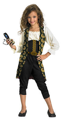 Angelica Classic Child Costume Pirates of the Caribbean Girl Halloween