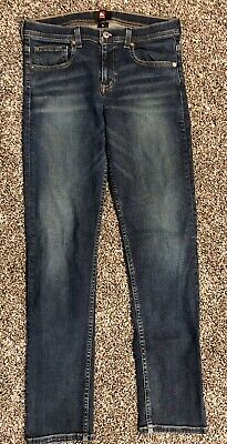Mens Quicksilver Straight Fit Jeans Size 29 X 31