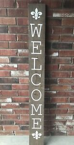 Welcome Sign Front Door