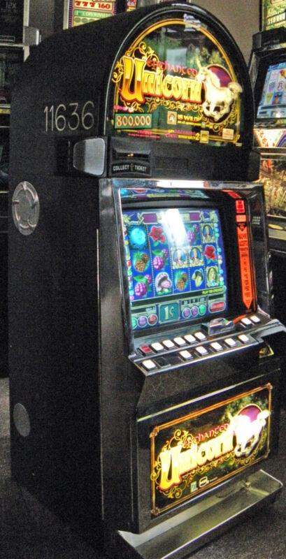 "IGT I-GAME COINLESS VIDEO SLOT MACHINE ""ENCHANTED UNICORN"""