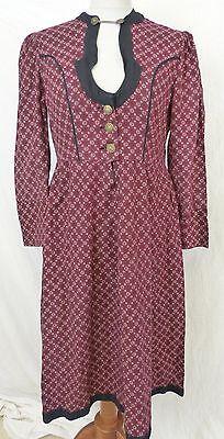 wunderschönes Vintage Dirndl Kleid Tracht 30er / 40er Jahre