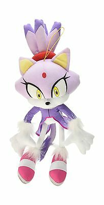 "Great Eastern GE-52636 Sonic The Hedgehog 14"" Blaze The Cat Stu... Free Shipping"