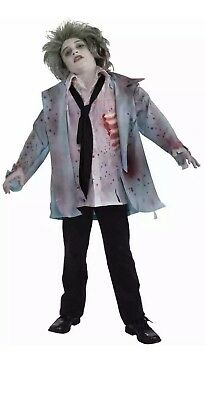 Zombie Boy Halloween Costume For Boys Size Medium 8-10 (Zombie Costumes For Halloween)