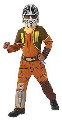 RUB 3610457 Star Wars Rebels Ezra Deluxe Lizenz Kinder Kostüm Jungen 9-10 - Star Wars Rebels Ezra Kostüm