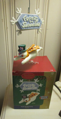 CARLTON CARDS 2006 FROSTY THE SNOWMAN ORNAMENT with SOUND