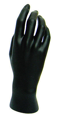 Mn-handsf-wf Black Right Female Mannequin Hand Jewelry Display Black Only