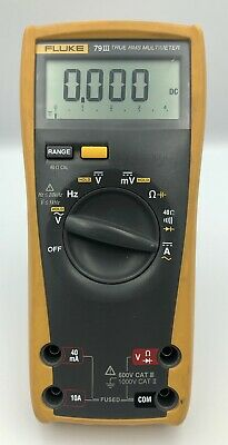 Fluke 79 Iii True Rms Multimeter Meter Only