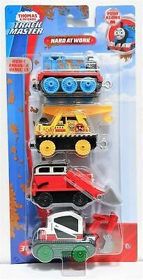 NIP! Thomas & Friends Track Master Hard at Work 4 pack Metal Engine & Vehicles
