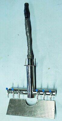 Micro Matic Metro-t-6psskr-m Draft Beer Wine Dispensing Tower
