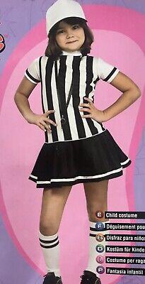 Child Referee Costume (Girls Referee Sports Child Costume)