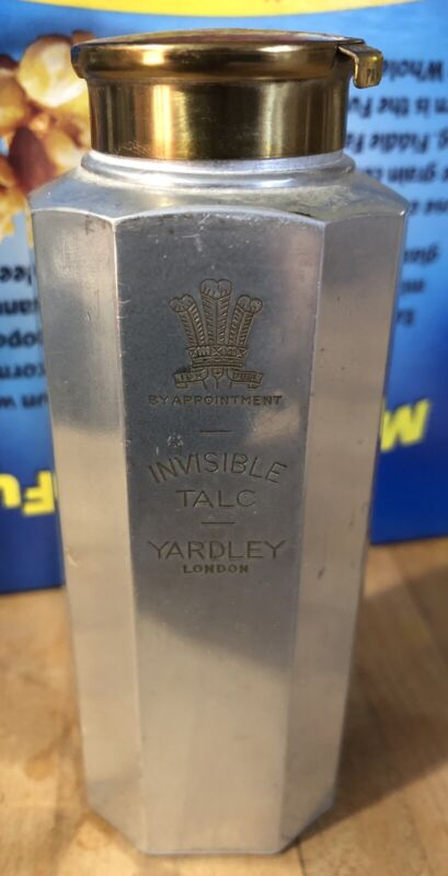 YARDLEY LONDON INVISIBLE TALC DISPENSER