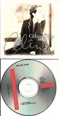 Celine Dion Zora Sourit  Sur Le Meme 2 Trx Card Sleeve French Cd Single Limited