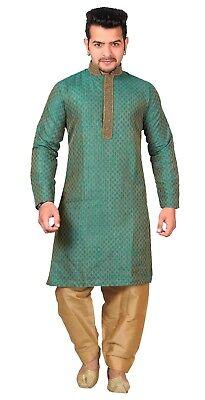 Shalwar Kameez Bestickt Asiatisch Hochzeit Outfit Sherwani (Asiatische Outfits)
