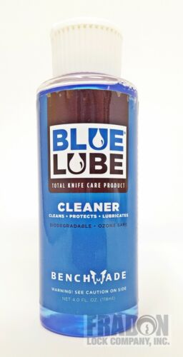 Benchmade Bluelube Cleaner Lubricant 4.0 fl oz Knife Care Maintenance