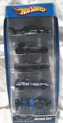 Hot Wheels MULTI-PACK Gotham City Batman Begins 5-Pack 2006/Thailand