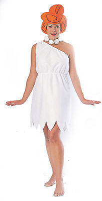 Adult Wilma Flintstone Costume Cave Girl Costume Cavewoman Dress 15737