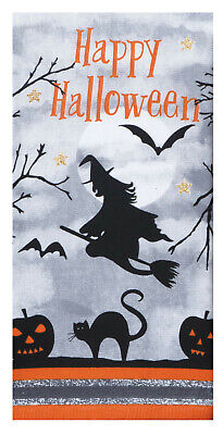 Kay Dee Designs Happy Halloween Witch Dual Purpose Terry Tow