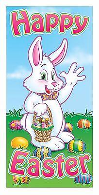 Easter Door Decorations Front Decor Hang Bunny Greeters Happy Cover 30X60  40010