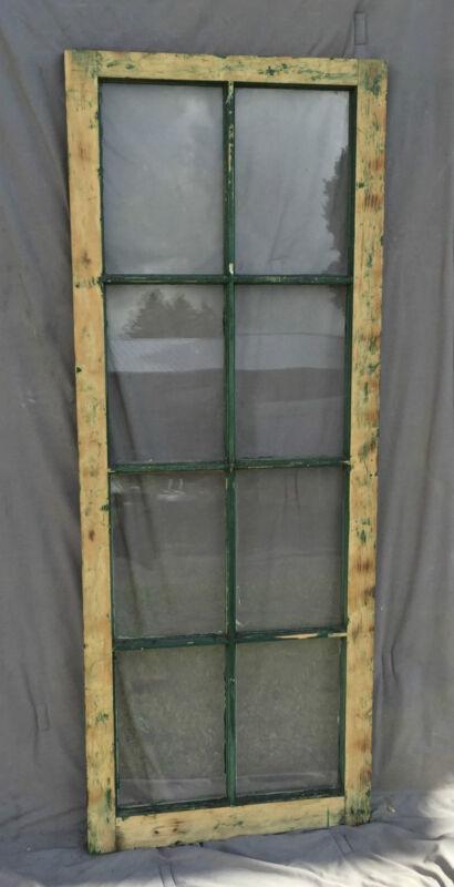 Antique Casement Window Pantry Cupboard Door Shabby Bookcase Chic Vtg 1239-16
