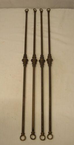 Antique Light Parts Set Lot Chandelier Arms  Vtg Brass Part Restore USA #P26