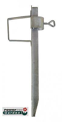 Rasendorn Stahl Erdspieß Erddübel Sonnenschirmständer Schirmständer Bodenhülse
