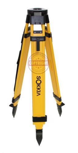 SOKKIA HEAVY-DUTY FIBERGLASS TRIPOD,SURVEYING,TRIMBLE,TOPCON,SECO,GPS, ROBOTIC