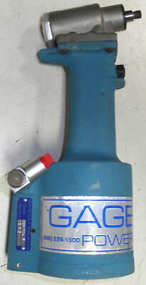 Nos Gb704 Gage Bilt Power Riveter Cherrymax Tool Only Gbp704f New Old Stock