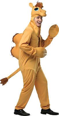 Kamel Erwachsen Herren Kostüm Tier Wüste Safari Zoo Rasta Imposta Süß - Safari Kostüm Halloween
