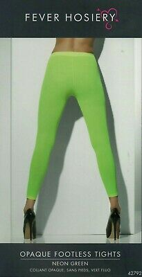 2 Stück Leggins Strumpfhose Neongrün Neu Neon-grüne Hose