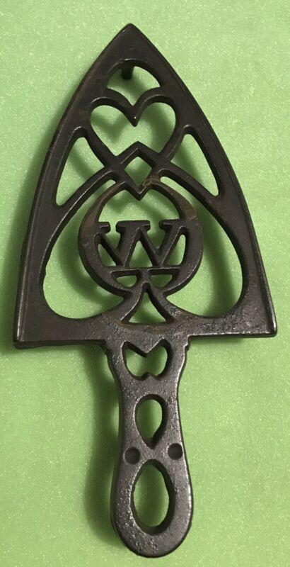 Antique Cast Iron Trivet, Winchester