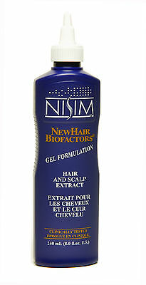 Nisim Extract Gel Formula For Dry to Normal Hair Types and Thinning Hair