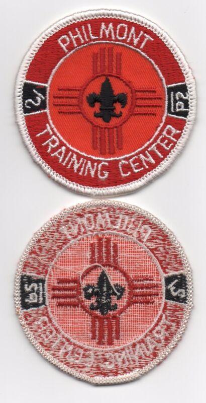 """Philmont Training Center 2 15/16"""" Patch, Vintage Cloth Gauze Loose Back, Mint!"""