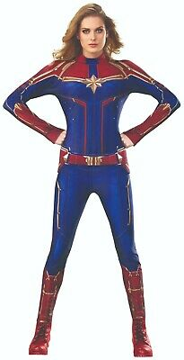 Rubies 3700600 - Captain Marvel Hero Suit - Adult Kostüm, Marvel Avengers - Captain Marvel Kostüm