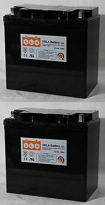 (2 Pack) - 12V 55AH Pride Mobility Jazzy 600, 600 XL, 614, 614HD Battery