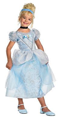 Disney Prinzessin Cinderella Deluxe Kleinkinder Kinder Kostüm Thema Party ()