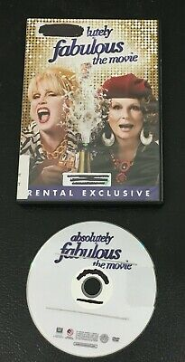 Absolutely Fabulous The Movie DVD  Rental Exclusive