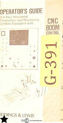 Giddings Lewis Cnc 800m Control Manual Program Operator Guide